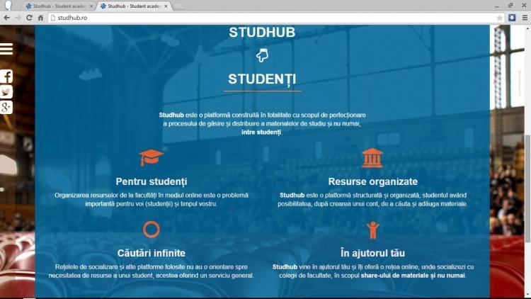 Studhub.ro - liber la incarcat cursuri de la UTCN, UBB si UMF