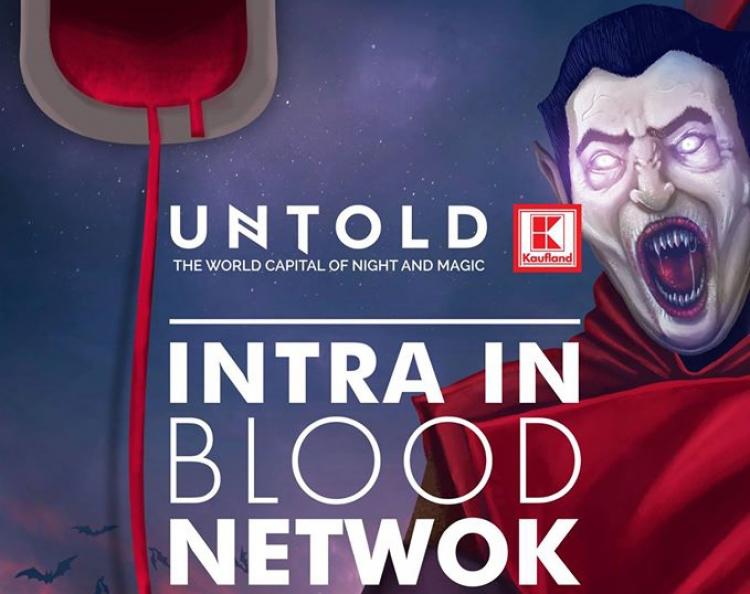 Blood Network: Doneaza sange si mergi gratis la Untold!