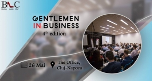 Business Ladies Club dedică luna mai domnilor organizand Gentlemen In Business