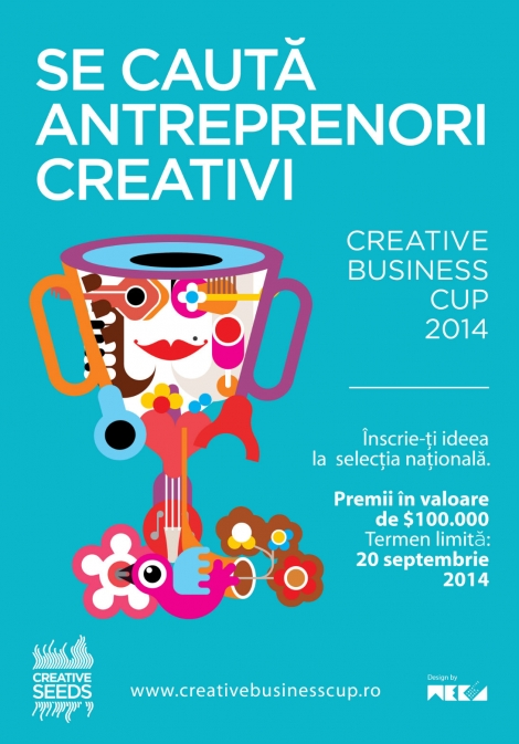 Inscrieti ideea de succes la Creative Business Cup 2014