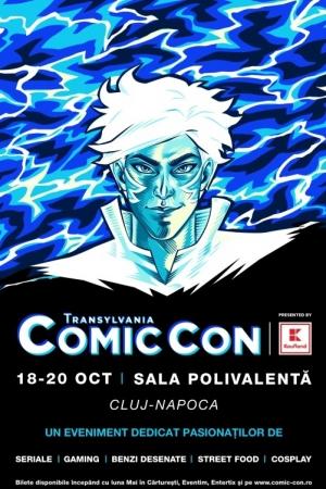 Transylvania Comic Con la BT Arena Cluj-Napoca in aceasta toamna