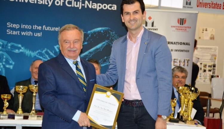 "USAMV a castigat marele premiu al Salonului International al Cercetarii, Inovarii si Inventicii ""Pro Invent 2018"""