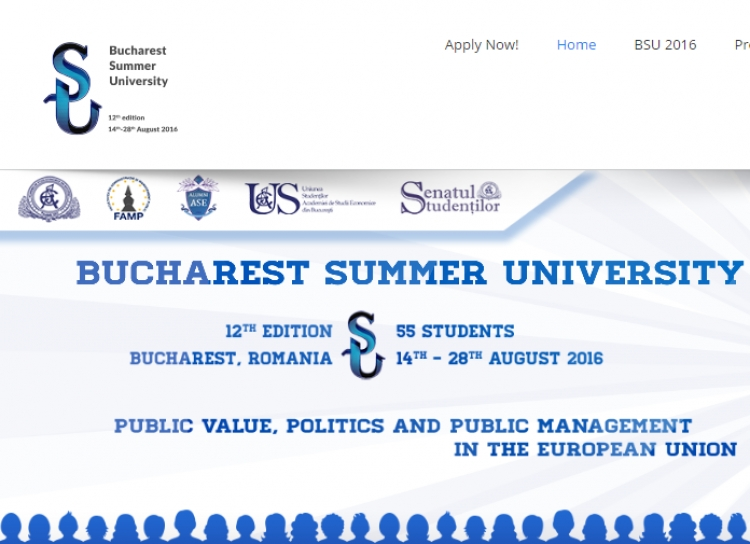 Scoala internatională de vara Bucharest Summer University isi deschide portile si anul acesta!