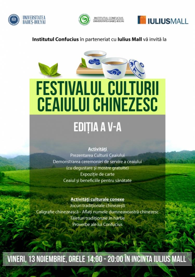 Degusta cel mai bun ceai la Festivalul Culturii Ceaiului Chinezesc
