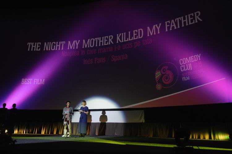 """Cele mai importante premii de la Comedy Cluj 2016 au fost luate de comedia """"Noaptea in care mama l-a ucis pe tata"""""""
