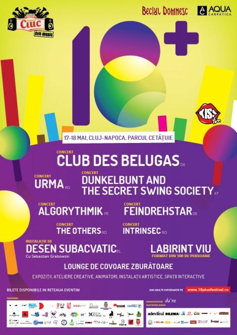 [update] 18+ festival anunta programul