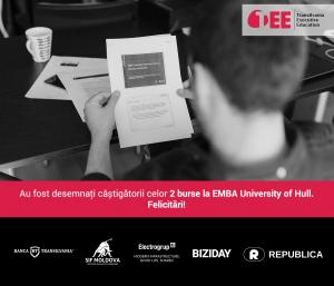 Au fost anuntati castigatorii celor 2 burse oferite de Transilvania Executive Education