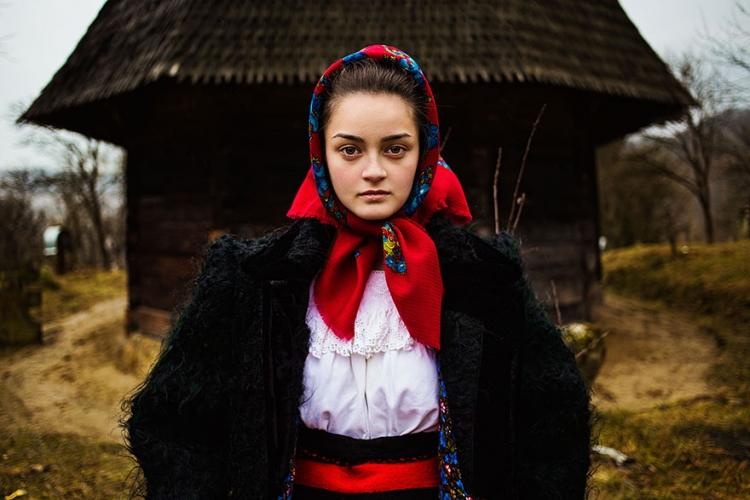 Portretul unei studente de la Cluj a ajuns in cel mai mediatizat proiect fotografic international