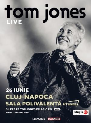 Sir Tom Jones va canta pentru prima data la Cluj-Napoca