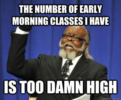 Cum sa supravietuiesti cursurilor de dimineata