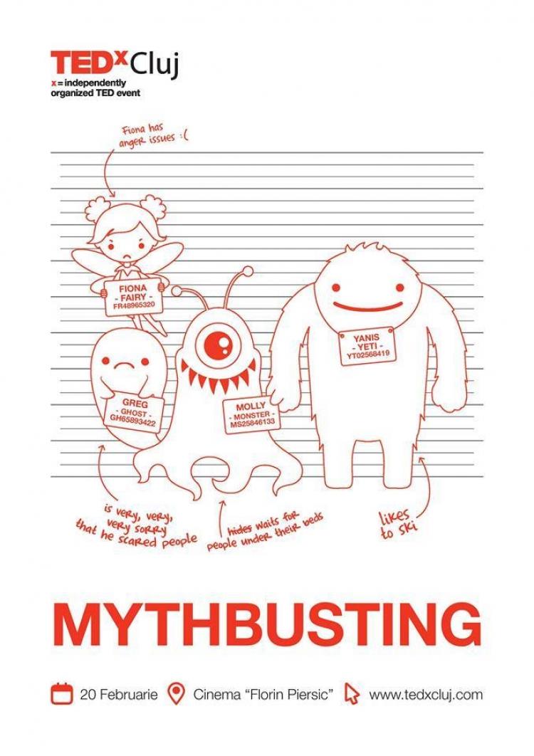 TEDxCluj: Mythbusting @ Cinema Florin Piersic
