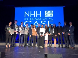 "Studentii FSEGA au urcat pe podium la concursul international ""NHH International Case Competition"""