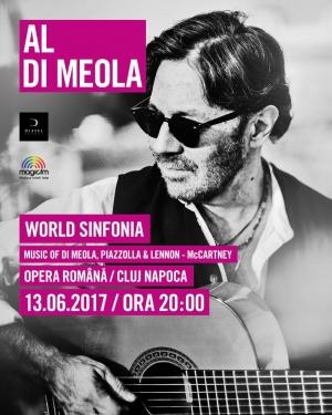 Al Di Meola va concerta in vara aceasta la Cluj