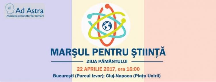 """Si Clujul organizeaza """"Marsul pentru Stiinta"""""""