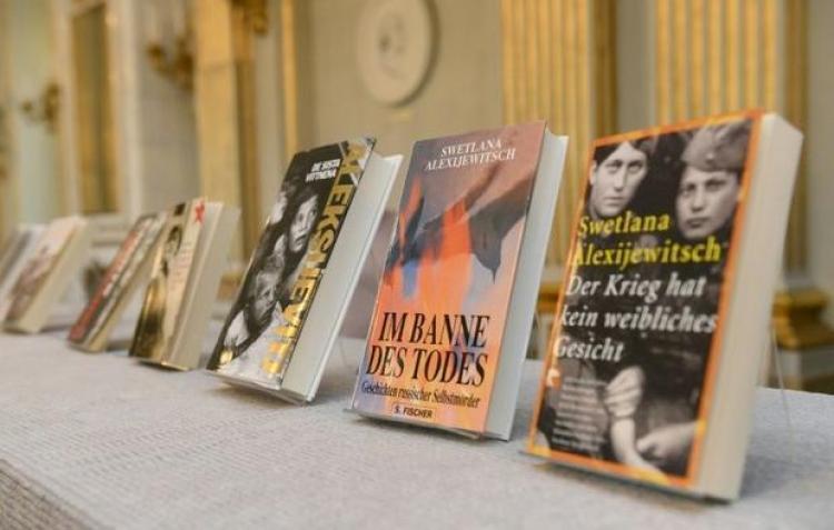 Cartile castigatoarei Premiului Nobel pentru Literatura 2015 vor fi publicate de Editura Litera