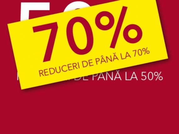 Reduceri de până la 70% în Iulius Mall