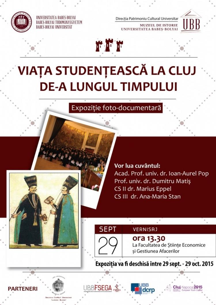 Viata studenteasca de la Cluj va fi prezentata intr-o expozitie la FSEGA