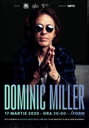Chitaristul lui Sting, Dominic Miller, va concerta la Cluj-Napoca