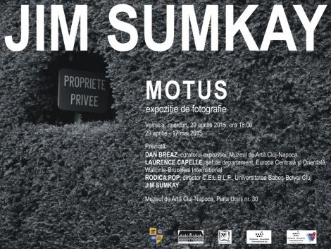 "Universitatea Babes-Bolyai va organiza expozitia de fotografie a lui Jim Sumkay, ""Motus"""