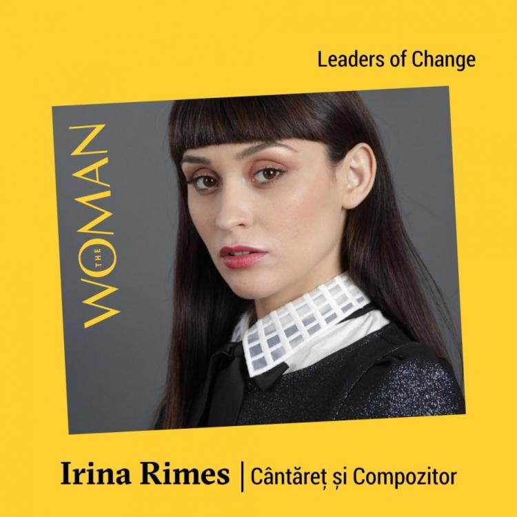 Irina Rimes si Dite Dinesz vor fi prezente la Conferinta The Woman din acesta primavara