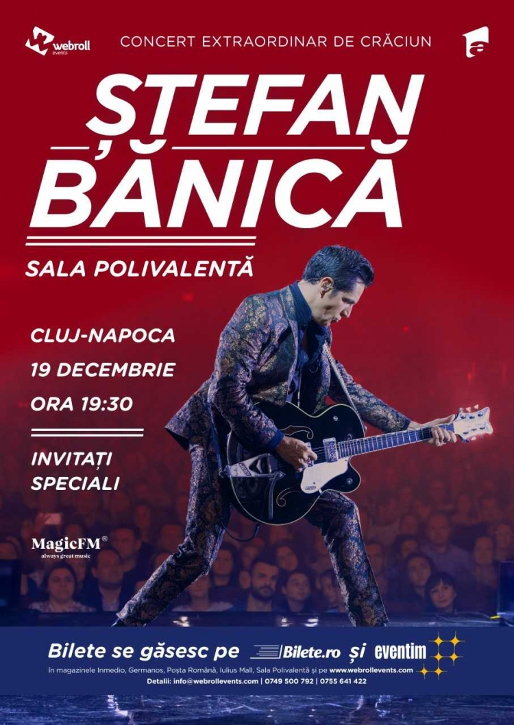Seria concertelor extraordinare de Craciun, marca Stefan Banica, continua si in 2018!