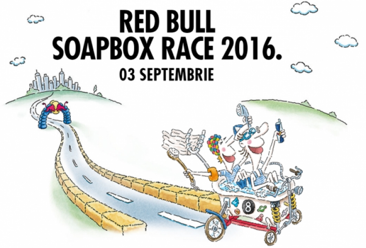 Red Bull Soapbox Race Romania 2016 se pregateste de Start!
