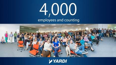 Yardi cauta anul acesta peste 150 de oameni noi