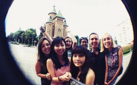 Peste 14.000 studenti straini prefera Romania pentru a studia