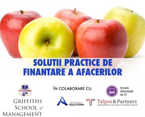 """Seminar interactiv – """"Solutii practice de finantare a afacerilor"""""""