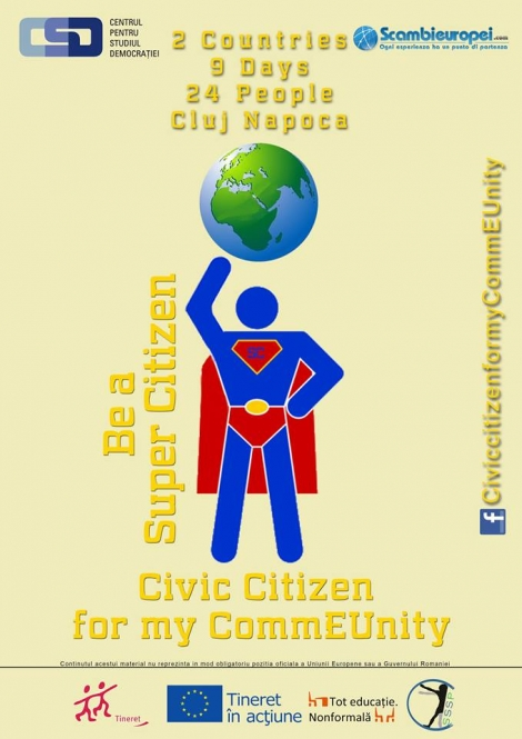 Civic Citizen for my CommEUnity - despre cetatenie si voluntariat