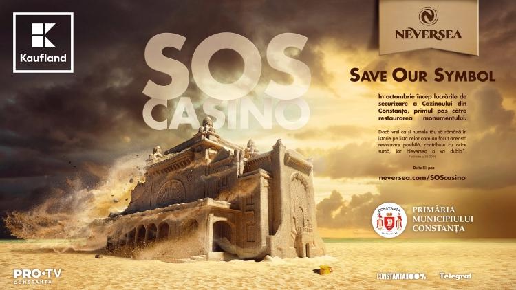 """NEVERSEA lanseaza campania """"S.O.S. Cazino"""" Constanta"""