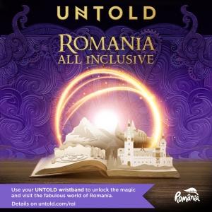"""""""ROMANIA ALL INCLUSIVE"""" - campania care deschide portile Romaniei zecilor de mii de turisti straini ce ajung la  UNTOLD si NEVERSEA!"""