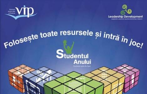 Este momentul tau sa devii STUDENTUL ANULUI!