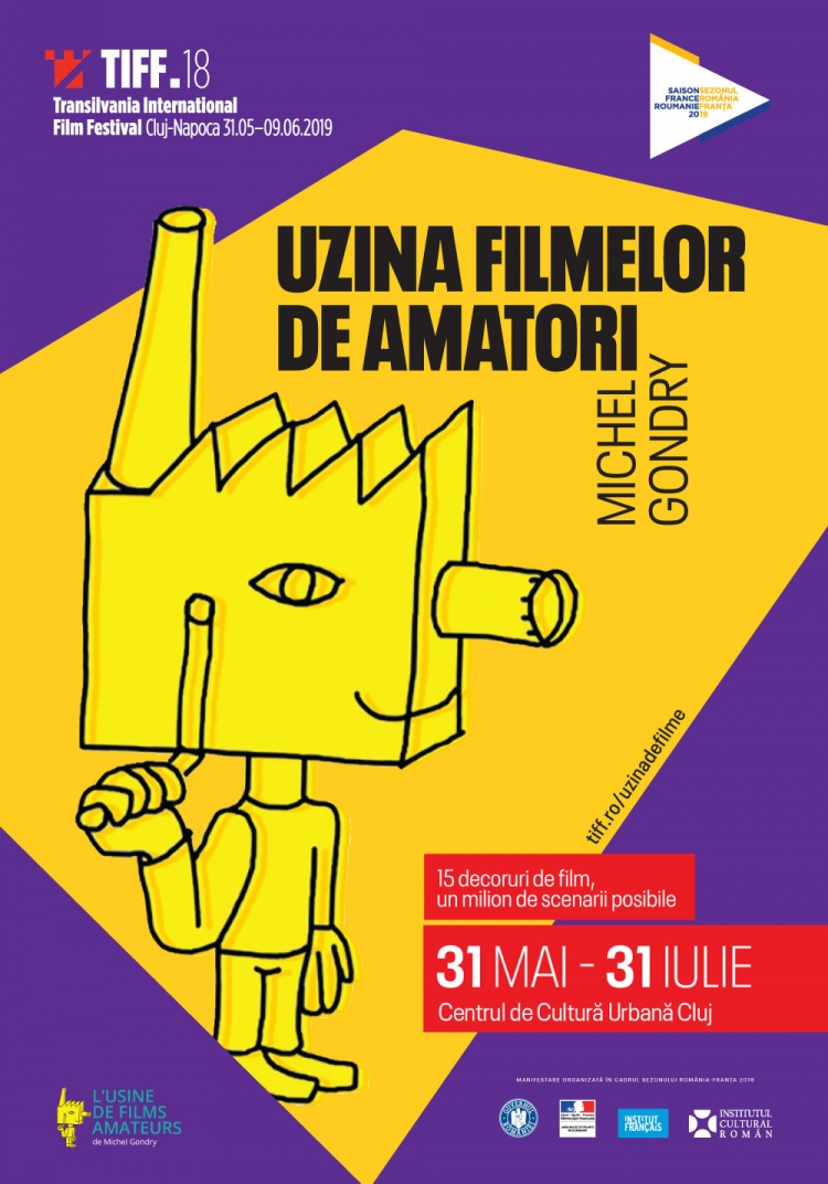 Uzina Filmelor de Amatori, creata de Michel Gondry, la TIFF 2019