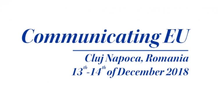 """Specialistii vor dezbate provocarile UE in cadrul conferintei internationale """"Communicating EU"""" organizate de UBB"""