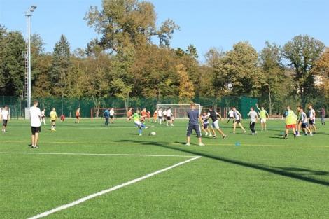 """Parcul sportiv """"Iuliu Hatieganu"""" se ridica acum la standarde europene"""