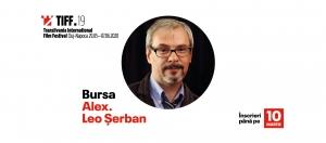 """Incep inscrierile TIFF pentru """"Bursa Alex. Leo Serban"""""""