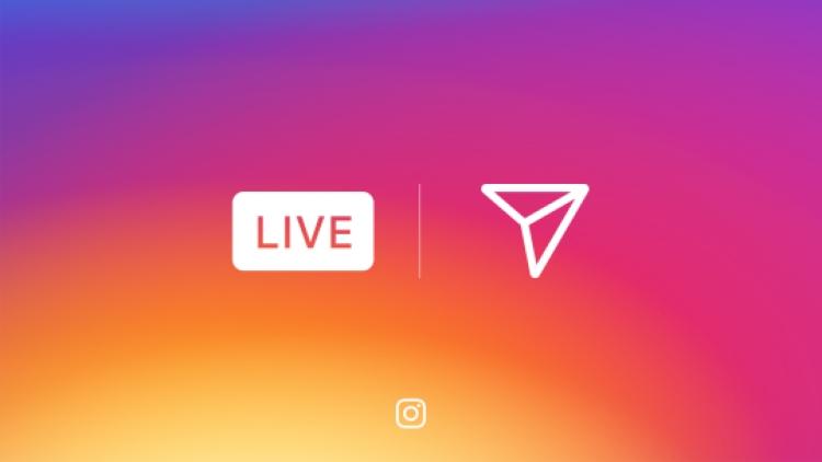 Instagram lanseaza live video si mesajele care se autodistrug