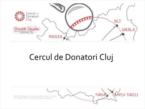 Donatii colective de peste 33.000 de lei pentru Orasele Clujului