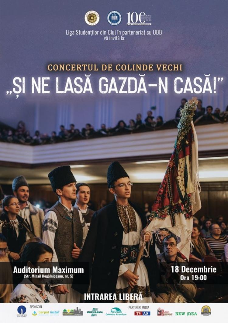 UBB va invita la a V-a editie a concertului de colinde vechi