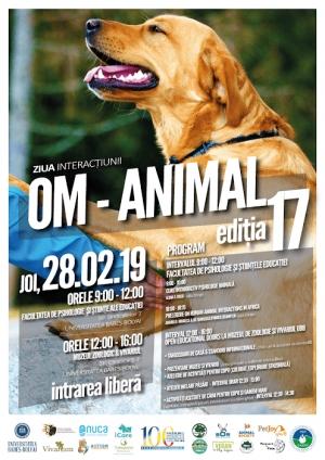 Evenimentul Ziua Interactiunii Om-Animal a ajuns a a XVII-a editie. Vezi programul.