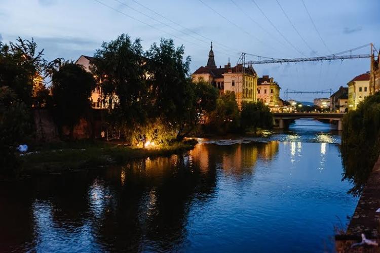 Somesul vazut altfel - expozitie de fotografie in Parcul Central din Cluj