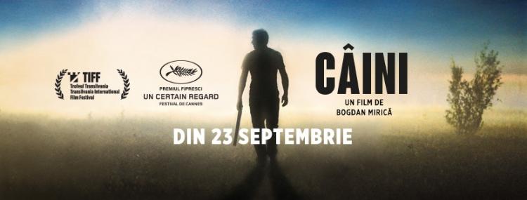 "Filmul ""Caini"" premiat la Cannes si Tiff intra din 23 septembrie in cinematografele din România"