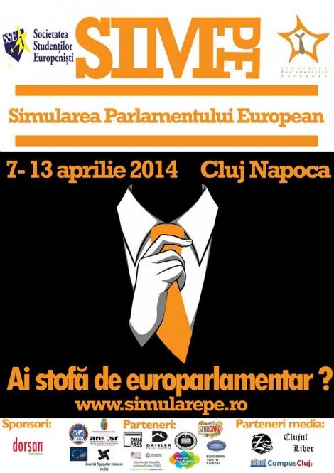 [Update] Societatea Studentilor Europenisti te invita sa iti pui cravata de Europarlamentar!
