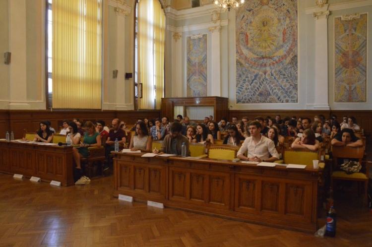 Turneul international de dezbateri Babes-Bolyai University Open a ajuns la a doua editie