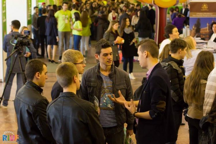 Peste 70 de universitati si institutii educationale din lume sunt prezente pe 21 martie la RIUF Cluj-Napoca