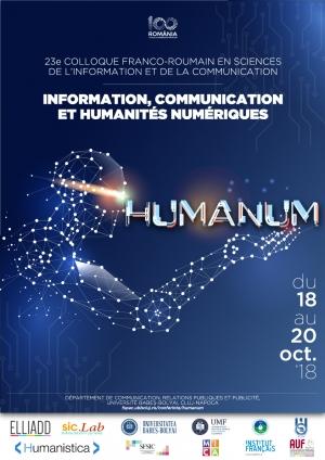 Provocarile stiintelor comunicarii si informatiei vor fi dezbatute la FSPAC in cadrul conferintei romano-franceze HUMANUM