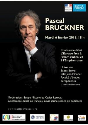 "Pascal Bruckner va sustine o conferinta intitulata ""Europa in fata islamului radical si Imperiului rus"""
