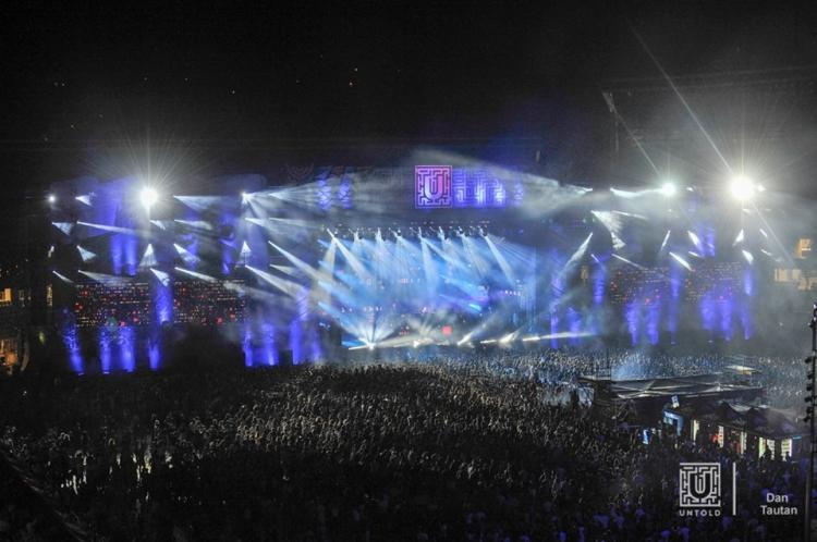 Cifrele primei zile de la UNTOLD Festival