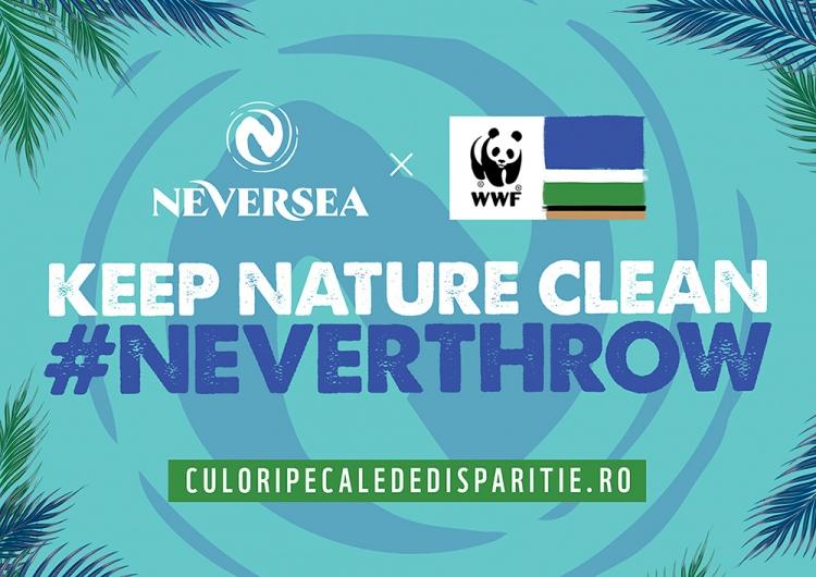 """NEVERSEA este Brand Ambasador al campaniei """"Culori pe cale de disparitie"""" al WWF Romania"""